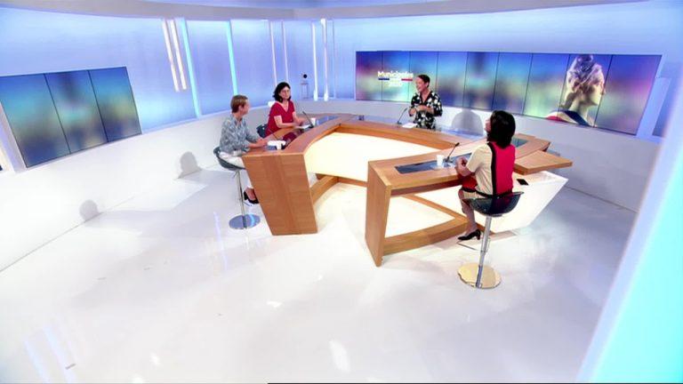 Municipales 2020 à Nantes. Débat entre Johanna Rolland, Laurence Garnier et Valérie Oppelt