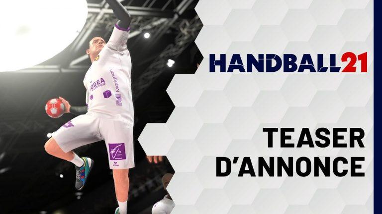 Handball 21. Un nouveau jeu vidéo annoncé pour novembre.