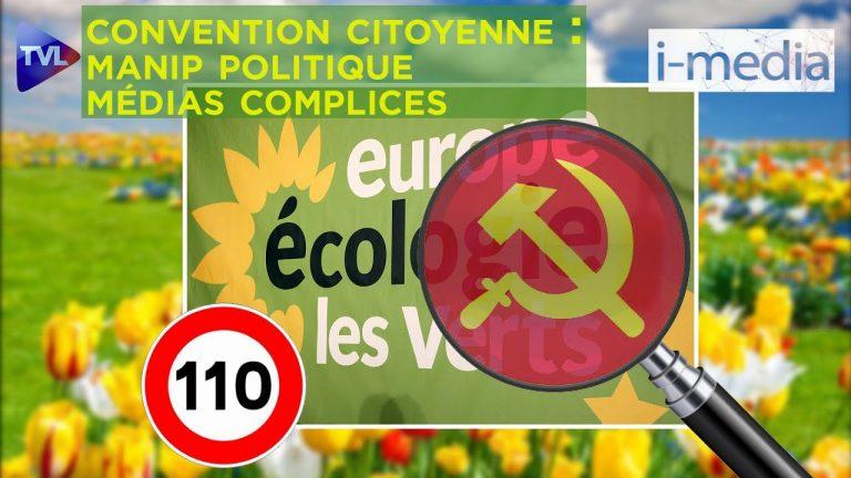 I-Média n°304 – Convention citoyenne : manip politique, médias complices
