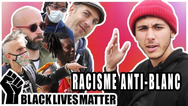 Micro-trottoir sur le racisme anti-blanc. Micro-Connard #25