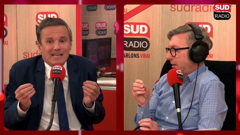 Nicolas Dupont-Aignan : « Castaner n'est plus crédible comme ministre de l'intérieur »