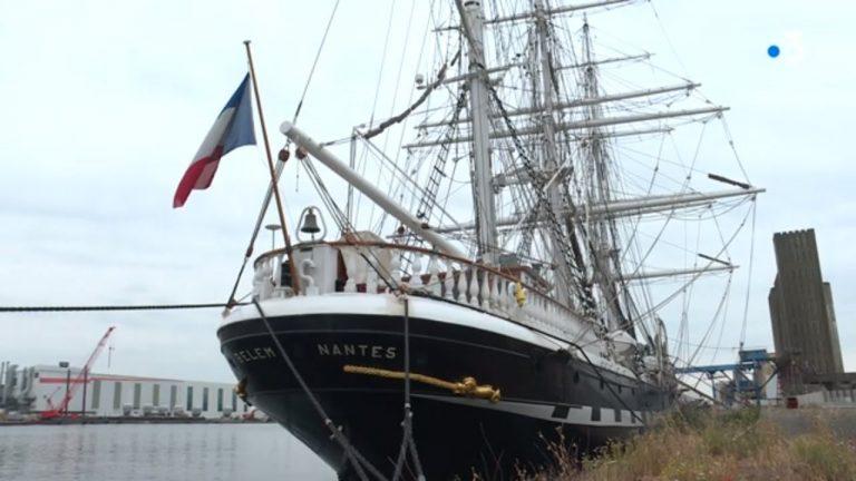 Saint-Nazaire : le Belem reste à quai