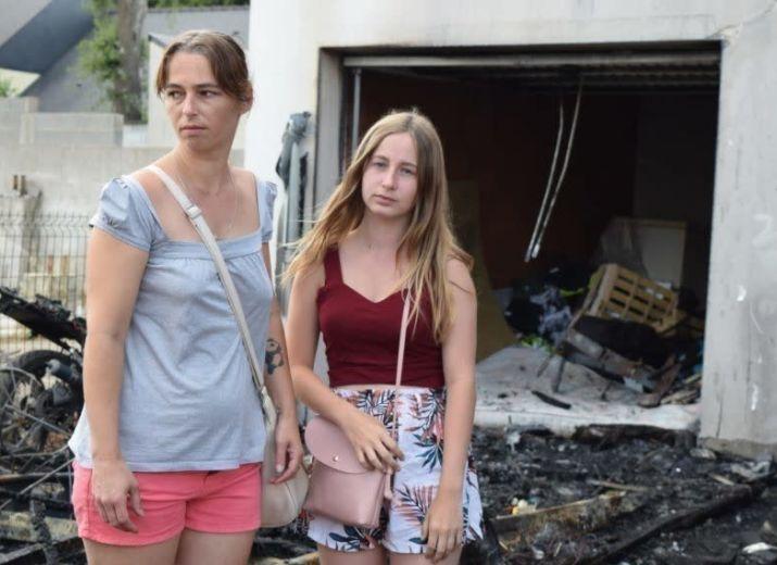 Châteaubriant. Des racailles incendient leur maison : mobilisation pour une famille à la rue