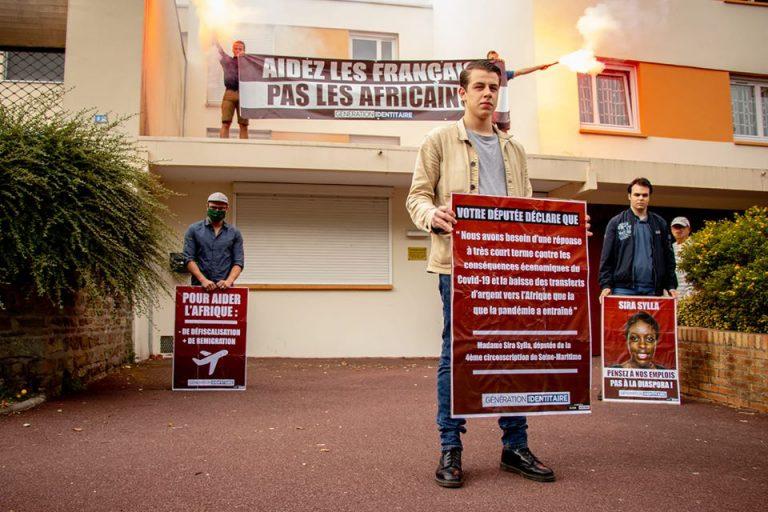 Aidez les Français, pas les Africains. Génération Identitaire rappelle à la député Sira Sylla pourquoi les contribuables la paient