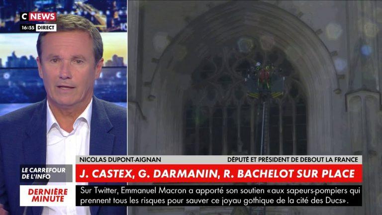 Nicolas Dupont-Aignan : « On a 3 actes anti-chrétiens par jour dans un pays, et ce pays le nie »