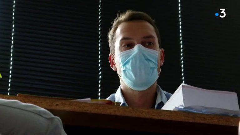 Un salarié breton licencié par l'entreprise Le Nouy pour avoir ôté son masque au travail.