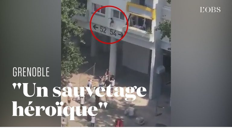 Deux enfants sautent du 3e étage et échappent miraculeusement à un incendie à Grenoble