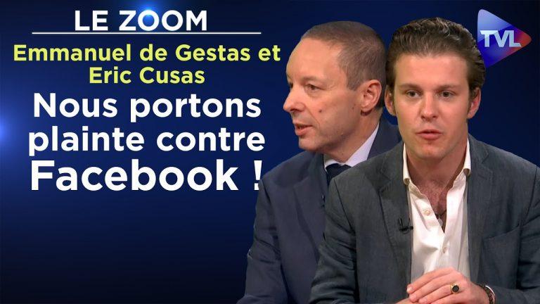 Emmanuel de Gestas et Eric Cusas : « Nous portons plainte contre Facebook »