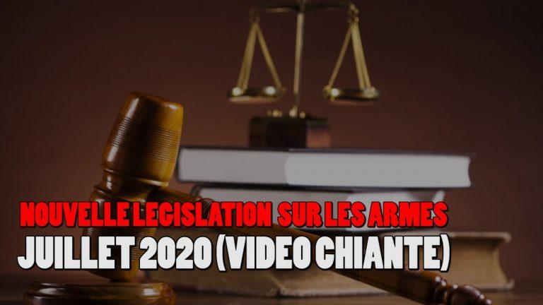 Armes à feu. La nouvelle législation en France, ce qui change au 1er juillet 2020