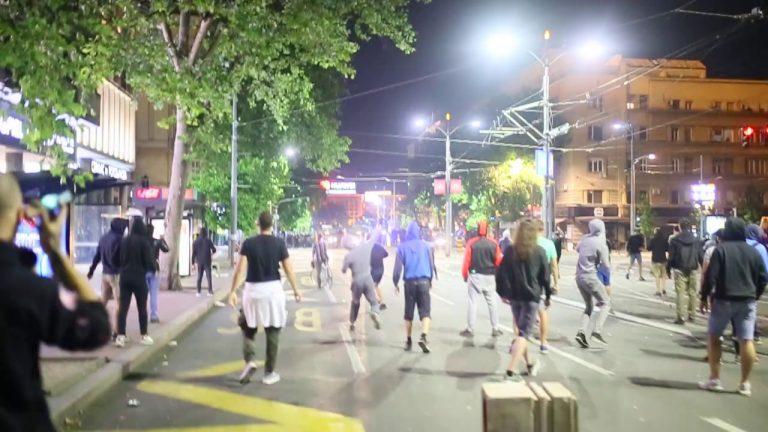 Serbie. À Belgrade, de violents incidents contre le reconfinement [Vidéo]