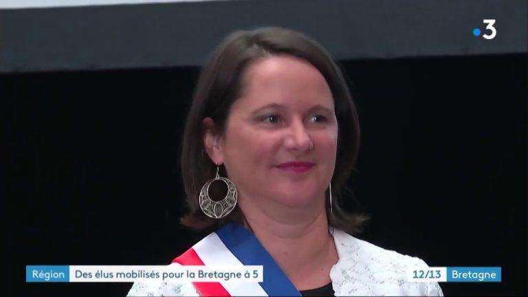 Pour une Bretagne à 5 départements, la Région s'engage