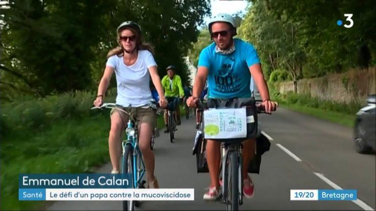 Un tour de France en vélo pour vaincre la mucoviscidose
