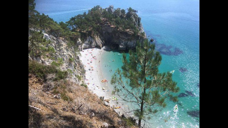 Trop plébiscitée, la plage de l'île Vierge à Crozon fermée au public
