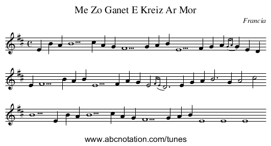 Le breton par le chant: Me zo ganet e-kreiz ar mor