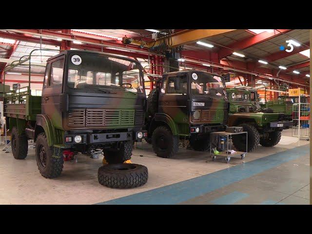 Saint-Nazaire : l'entreprise ARQUUS qui aménage des véhicules militaires recrute
