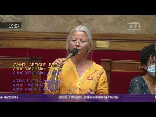 Agnès Thill dénonce l'hypocrisie du gouvernement sur le projet de loi bioéthique et la GPA