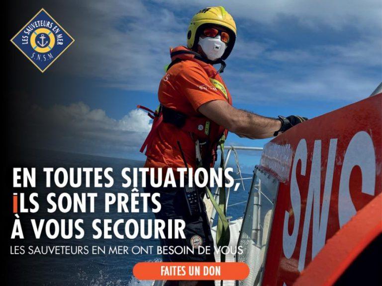 Après la journée nationale des Sauveteurs en mer, la campagne d'appel aux dons de la SNSM se poursuit tout l'été…