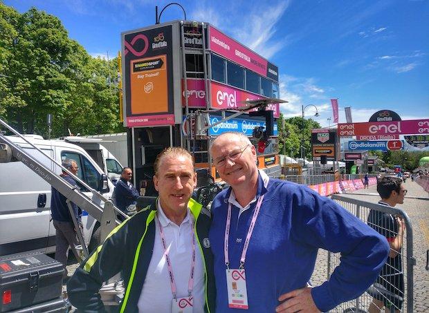 Les coulisses de commentateur de cyclisme avec Carlton Kirby