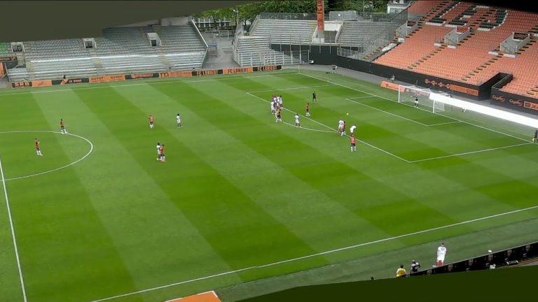 Les buts de la rencontre amicale FC Lorient – Brest (2-2)