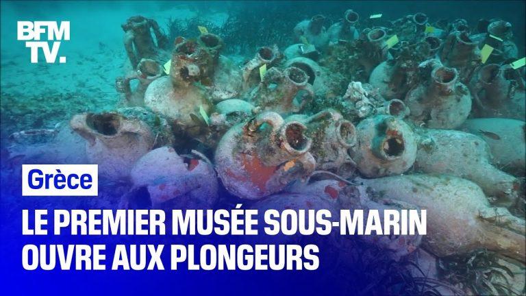 Vestiges de l'Antiquité. La Grèce ouvre aux plongeurs son premier musée sous-marin
