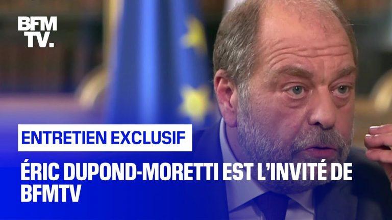 Éric Dupond-Moretti répond aux questions d'Apolline de Malherbe