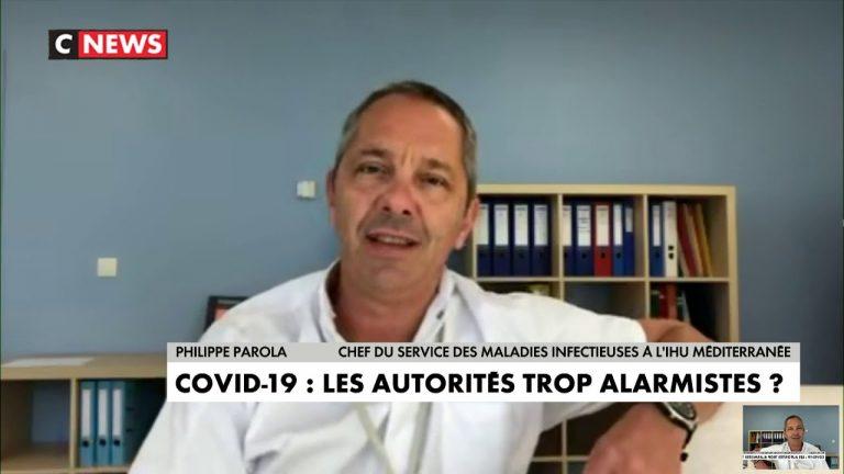 « Peu de mortalité, peu d'hospitalisation…J'ai des malades beaucoup plus inquiétants que le Covid », déclare Philippe Parola