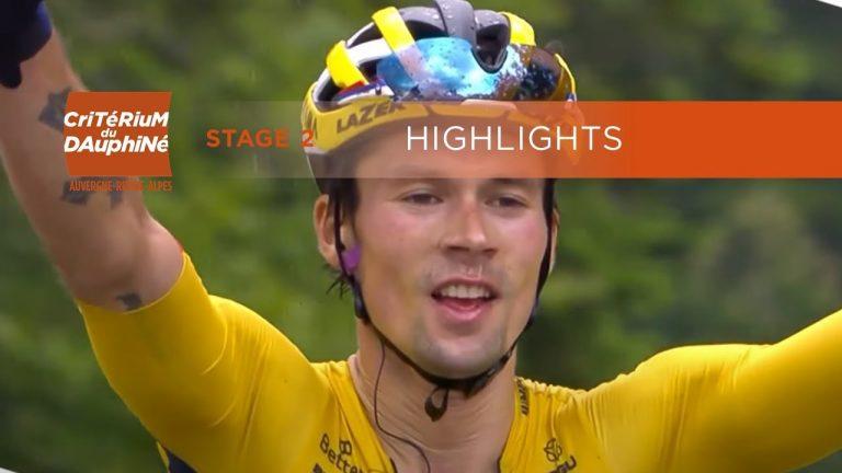 Critérium du Dauphiné 2020. Primoz Roglic domine le Col de Porte devant Thibaut Pinot