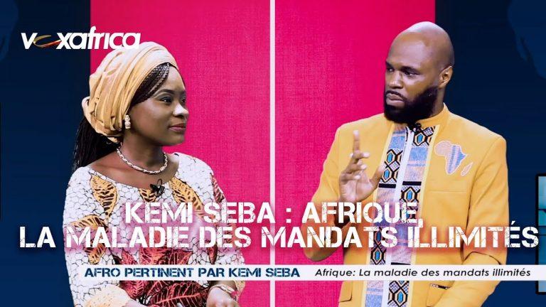 Kemi Seba évoque « la maladie » des mandats illimités en Afrique