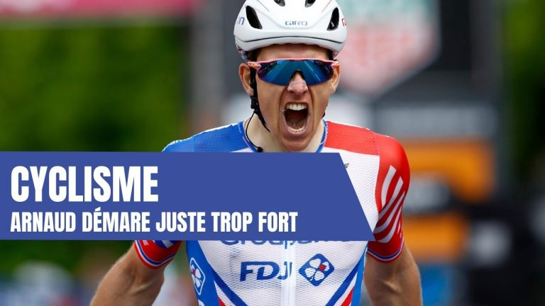 Victoire d'Arnaud Démarre aux Championnats de France cycliste. Le résumé de la course hommes