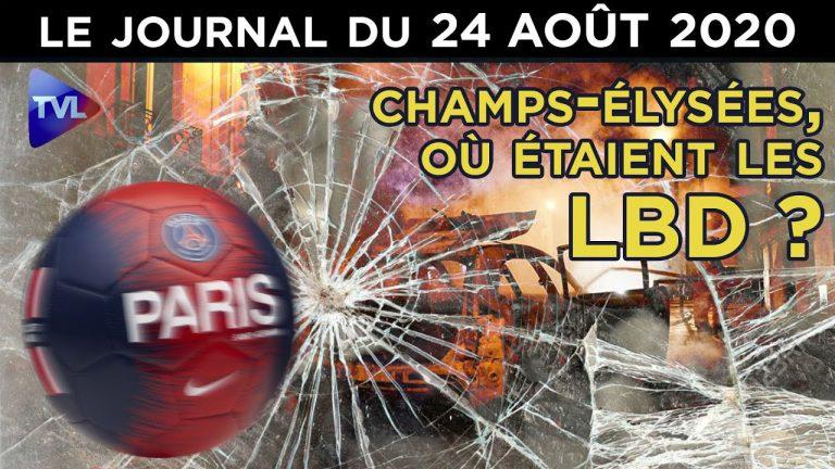 Défaite du PSG : Victoire des casseurs sur les Champs-Elysées