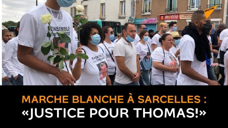 «Assez de violence !» Une marche blanche en mémoire de Thomas Carbonnel