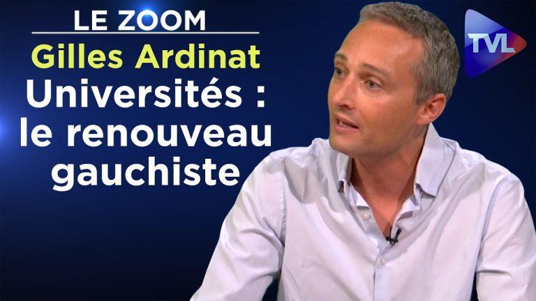 Gilles Ardinat sur le cancer du gauchisme intersectionnel dans les facs