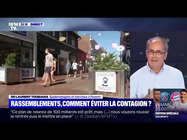 Dr Toubiana : « Il n'y a pas d'épidémie COVID-19 à l'heure actuelle, il y a une épidémie d'angoisse »