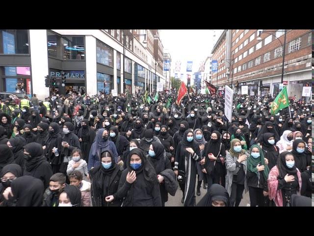 Islamisation du Royaume-Uni : des milliers de musulmans chiites défilent dans les rues de Londres pour célébrer l'Achoura (vidéos)