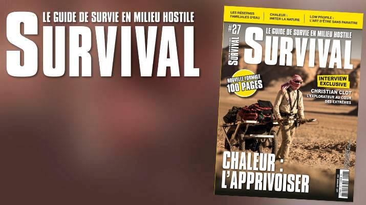 Apprivoiser la chaleur. Le numéro 27 de Survival Magazine est sorti