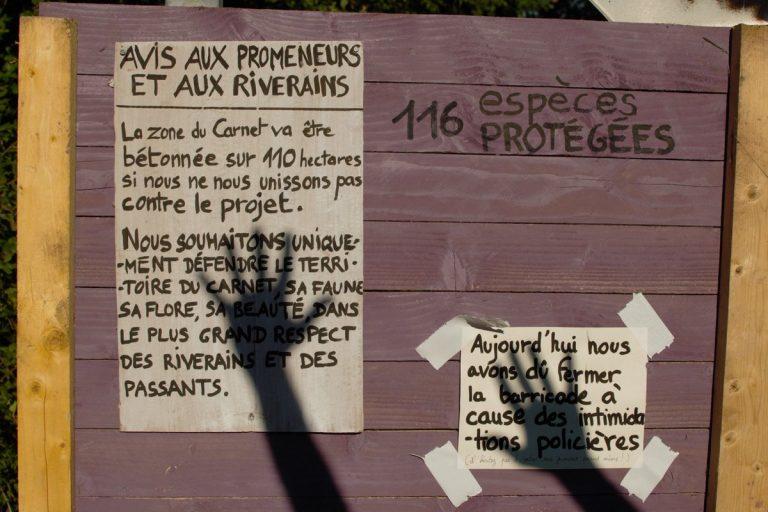 ZAD du Carnet (44): le préfet de Nantes fuit ses responsabilités, la mairie de Frossay agit