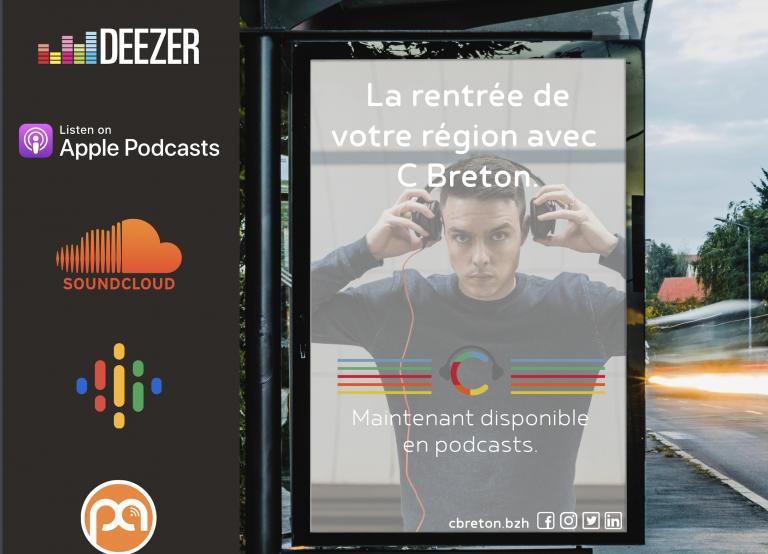 3 mois après son lancement, le média C Breton débarque en podcasts