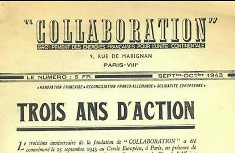 Un livre sur le Groupe Collaboration en Loire-Inférieure (1941-1944)
