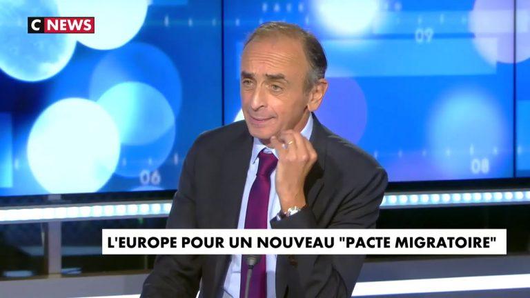 Eric Zemmour appelle à un référendum sur l'immigration
