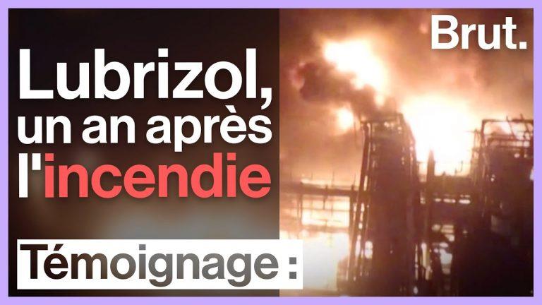 L'incendie de l'usine de produits chimiques Lubrizol à Rouen, un an après