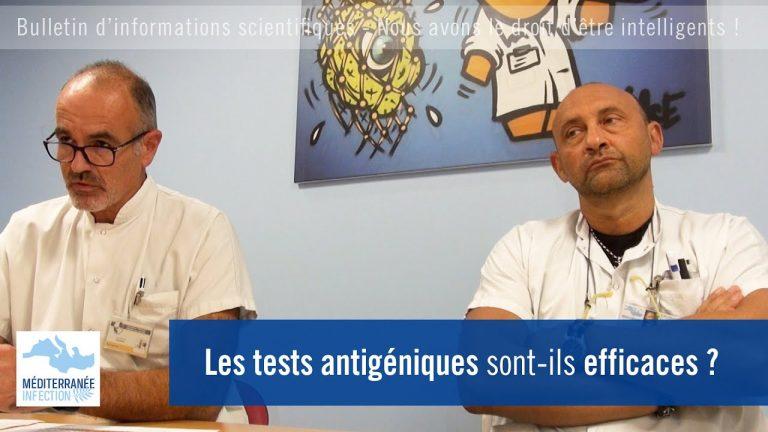 Covid-19. Les tests antigéniques sont-ils efficaces ?