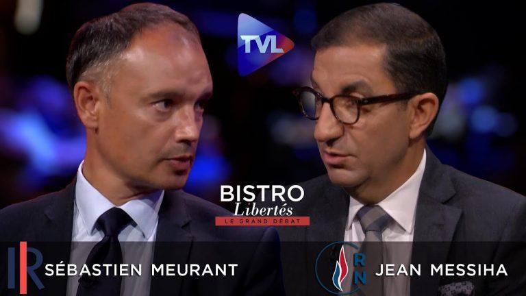 Bistro Libertés. Sébastien Meurant (LR) dans l'arène face à Jean Messiha (RN)