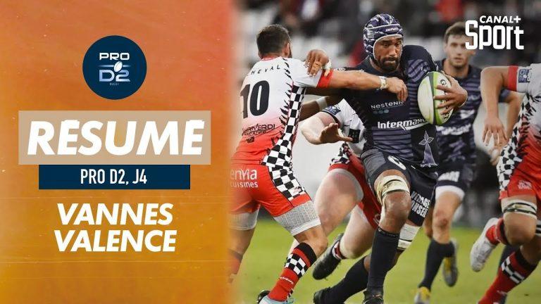Rugby. Le RC Vannes mange Valence (36-10) et prend la tête de la Pro D2
