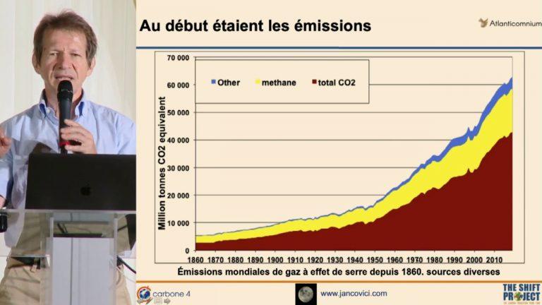 Jean-Marc Jancovici en conférence à Genève, détruit le mythe de l'éolien et des énergies renouvelables