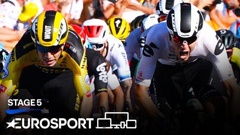 Cyclisme. Wout Van Aert remporte une bien triste 5ème étape du Tour de France 2020