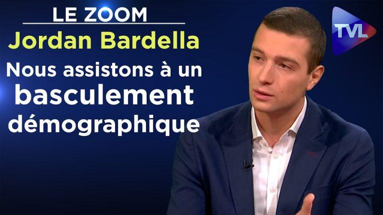 Jordan Bardella : « Nous assistons à un basculement démographique »