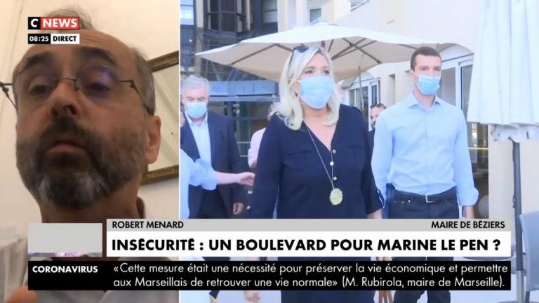 Robert Ménard : « Marine Le Pen n'a aucune chance pour 2022, il faut trouver quelqu'un d'autre ! »