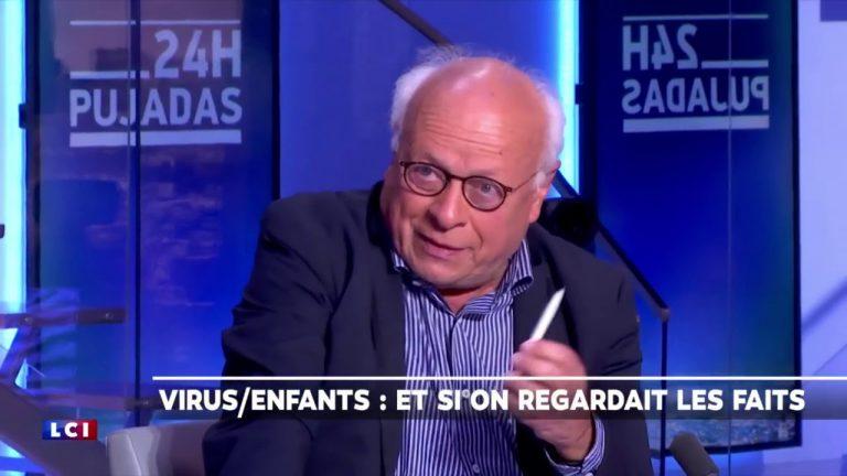 André Bercoff : « Ils veulent nous angoisser ! Regardez le nombre de morts du Covid-19 actuellement »