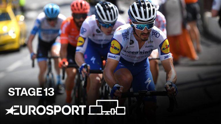 Cyclisme. Daniel Martinez s'arrache pour remporter la 13ème étape du Tour de France 2020
