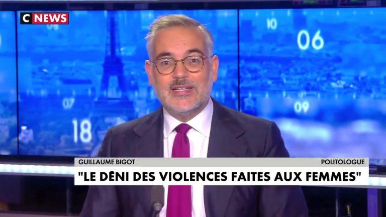 Guillaume Bigot : « Chez nous, la virilité ne consiste pas à frapper une femme, mais son agresseur »